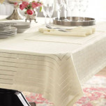 Bennett Linen Tablecloth, Placemats, Napkins | Gracious Style