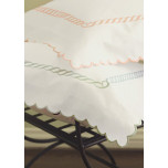 Carlyle 20 x 37 Cotton Sateen Embroidered King Sham
