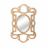 Tracery Mirror - Gold