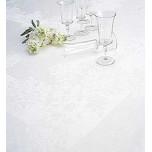 Irish linen Chrysanthemum damask table linens | Gracious Style