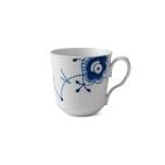 Blue Fluted Mega Latte Mug With Handle 15.5oz.