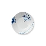Blue Fluted Mega Dessert Bowl 6.75 in.