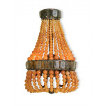 Lana Wall Sconce, Apricot The Marjorie Skouras Collection