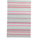 Fiesta Stripe Sky Fuchsia Indoor Outdoor Rugs