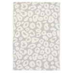 Spot Pearl Grey Woven Cotton Rugs