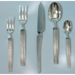 Hussard Stripe Silverplate Flatware