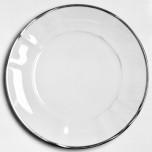 Simply Elegant Platinum Dinnerware