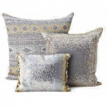 Kim Seybert Dotted Geometric Throw Pillows | Gracious Style