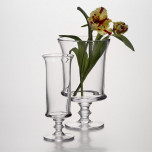 Dover Footed Vase & Hurricane