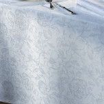 Mille Charmes Blanc Damask Table Linens
