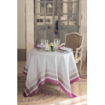 Abeilles Royales Parme Green Sweet Stain-Resistant Table Linens