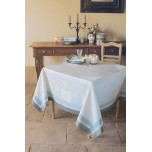 Bagatelle Soie Green Sweet Stain-Resistant Table Linens