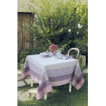 Faience Mauve Green Sweet Table Linens