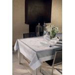 Souffle Gris Green Sweet Stain-Resistant Table Linens