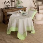 Eugenie Amande Damask Table Linens