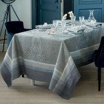 Isaphire Agate Green Sweet Stain-Resistant Damask Table Linens