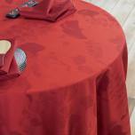 Mille Feuilles Rouge Table Linens