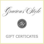 Gift Certificate | Gracious Style