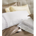 Harlow Sheets 590 TC with Lace Border | Gracious Style