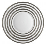 Hemisphere Platinum Stripe Dinnerware