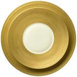 Hemisphere Matte Gold Dinnerware