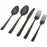 Oslo Black Flatware