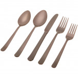 Oslo Chocolate Flatware
