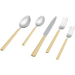 Vintage Gold-Stainless Flatware