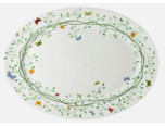 Wing Song Oval Platter 12 x 16 in