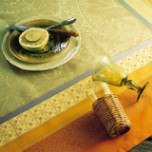 Isaphire Cuivre Table Linens
