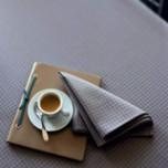 Kami Zinc Easy Care Table Linens