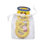 Emoji Set of 6 Yellow Coaster | Gracious Style