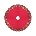 Hollyday Red/Green/Gold Tree Skirt