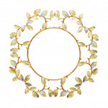 Laurel Gold/Silver Charger   Gracious Style