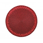 Herringbone Red Placemats | Gracious Style