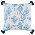 Sedona Pacific With Pom Poms Pillow 24 X 24 In | Gracious Style