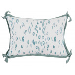 Leopard Surf With Spa Flange Lumbar Outdoor Pillow 13 X 19 In | Gracious Style