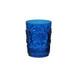 Fleur Polycarbonate Blue Small Tumbler 16 Oz