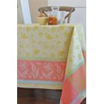 Birds Orange Table Linens | Gracious Style