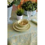 Breeze Blue Lake Table Linens | Gracious Style
