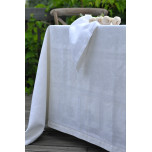 Natalie White Table Linens | Gracious Style