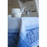 Provence Blue/White Table Linens | Gracious Style