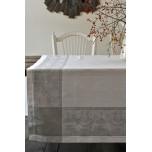 Verona White/Grey Table Linens | Gracious Style