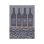Bar A Vins Zinc 28 X 20 In Tea Towel
