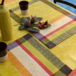 Provence Broom Damask Table Linens