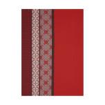 Bilbao Enduit Red Tea Towel 28 X 20 In