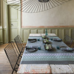 Bastide Grey Coated Table Linens