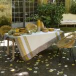 Bastide Ivory Coated Table Linens
