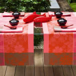 Sakura Camille Pink Table Linens