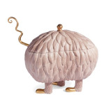 Haas Lukas Soup Monster Tureen Pink (Special Order) | Gracious Style